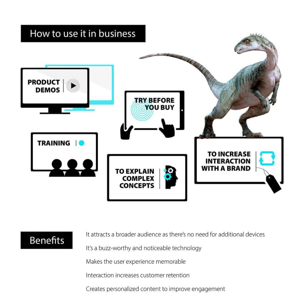 Benefits of Augmented Reality in business
